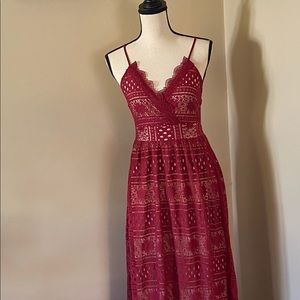 Vici red dress size M